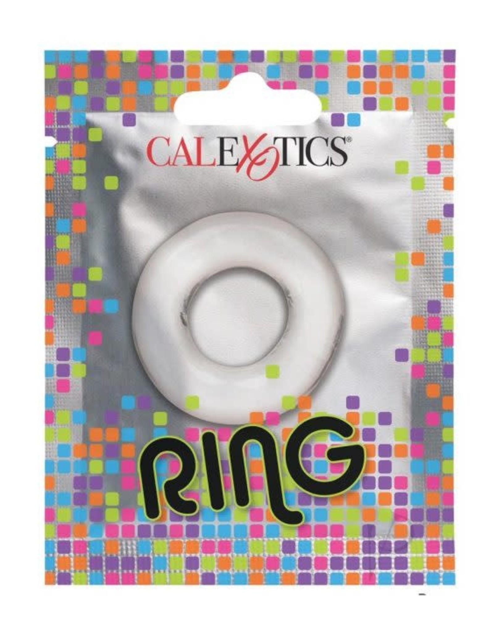 CALEXOTICS CALEXOTICS - FOIL PACK RING - CLEAR