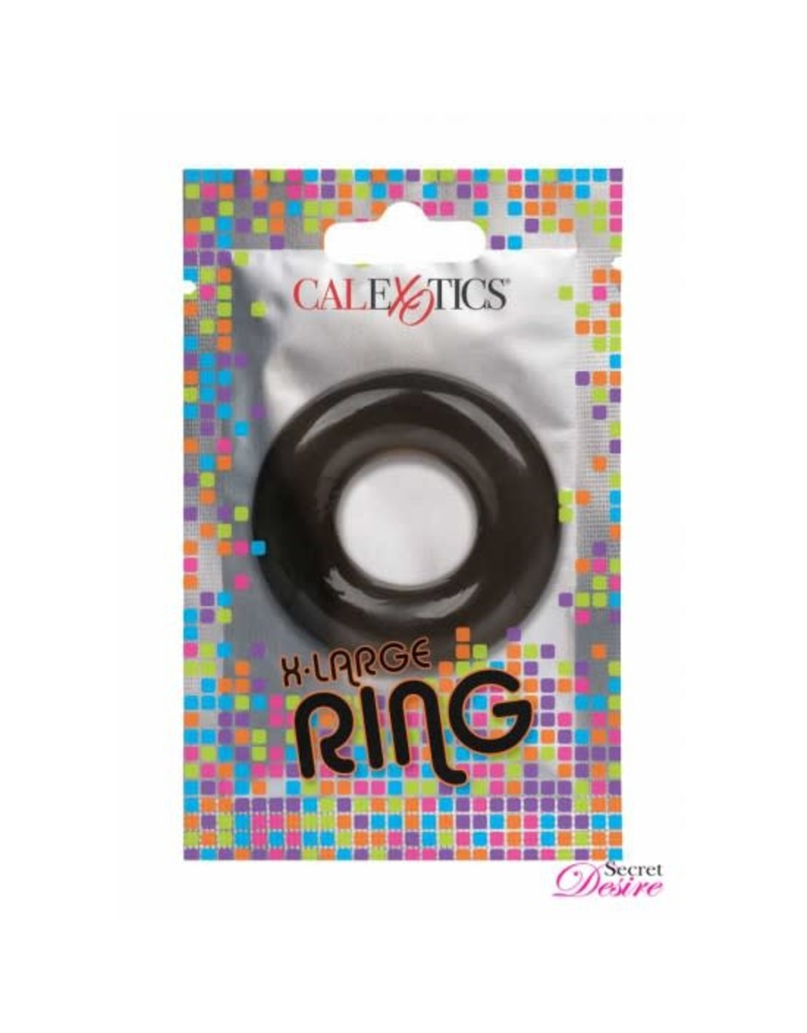 CALEXOTICS CALEXOTICS - FOIL PACK X-LARGE RING - SMOKE