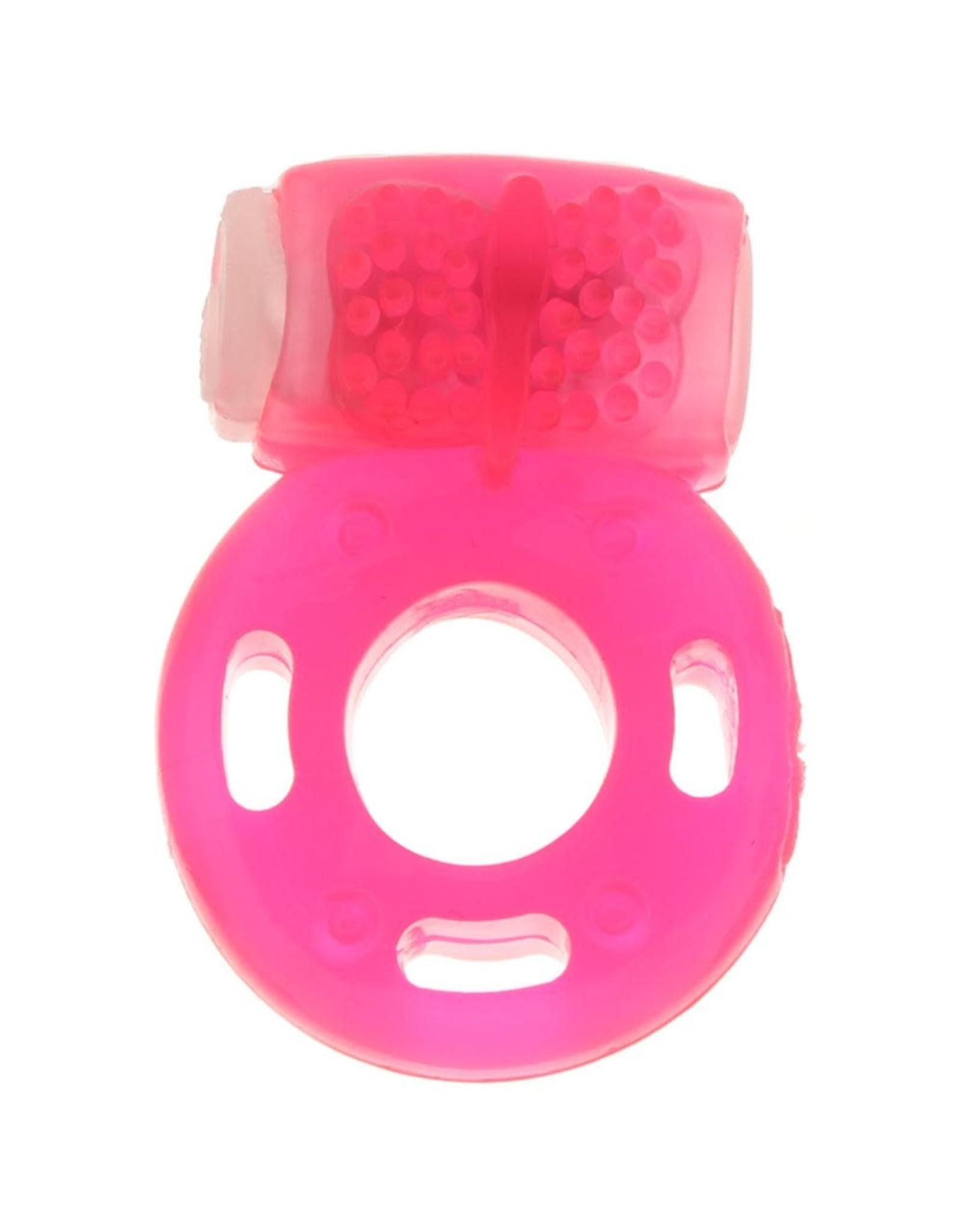 CALEXOTICS CALEXOTICS - FOIL PACK VIBRATING RING - PINK