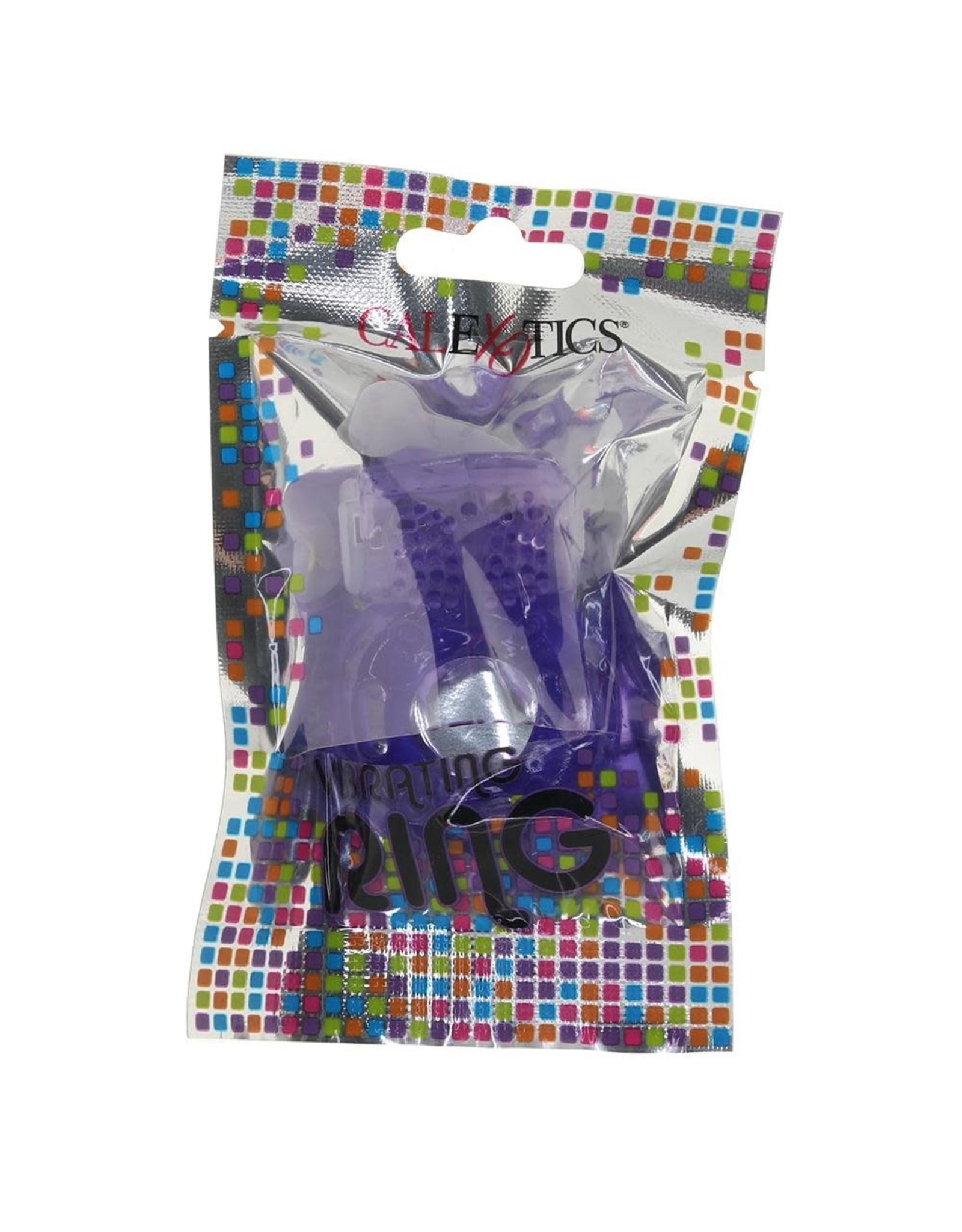 CALEXOTICS CALEXOTICS - FOIL PACK VIBRATING RING - PURPLE