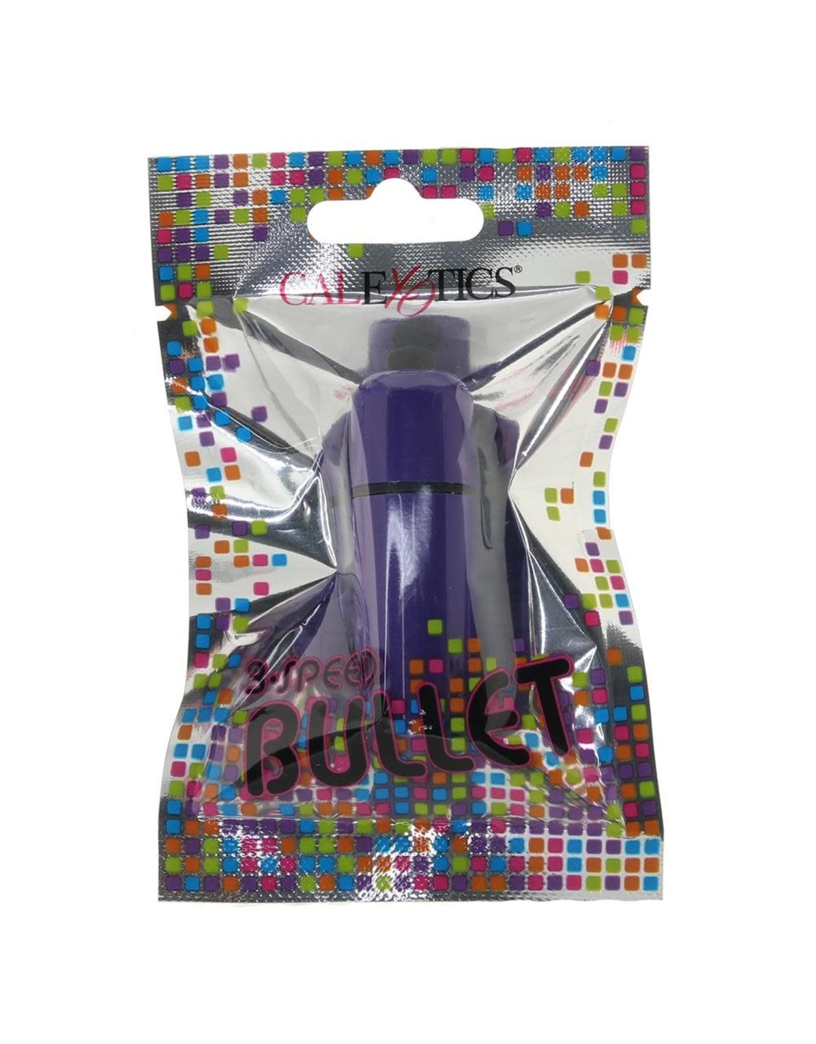 CALEXOTICS CALEXOTICS - FOIL PACK 3-SPEED BULLET - PURPLE