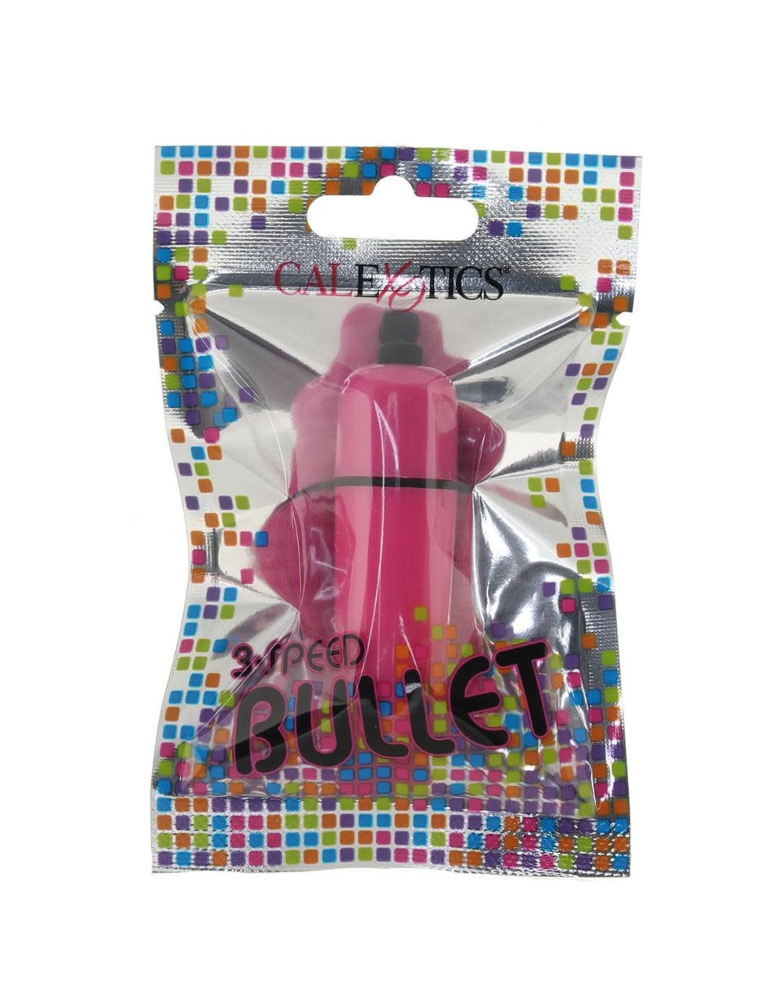 CALEXOTICS CALEXOTICS - FOIL PACK 3-SPEED BULLET - PINK