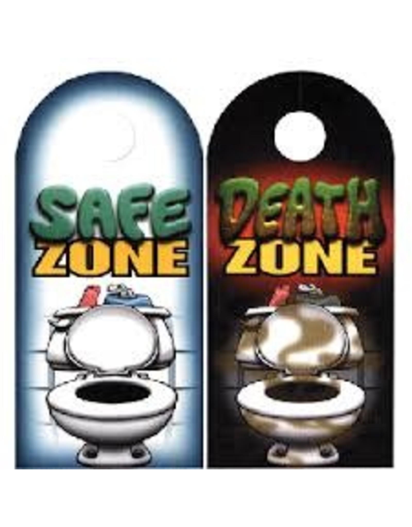 DOOR HANGER - DEATH ZONE
