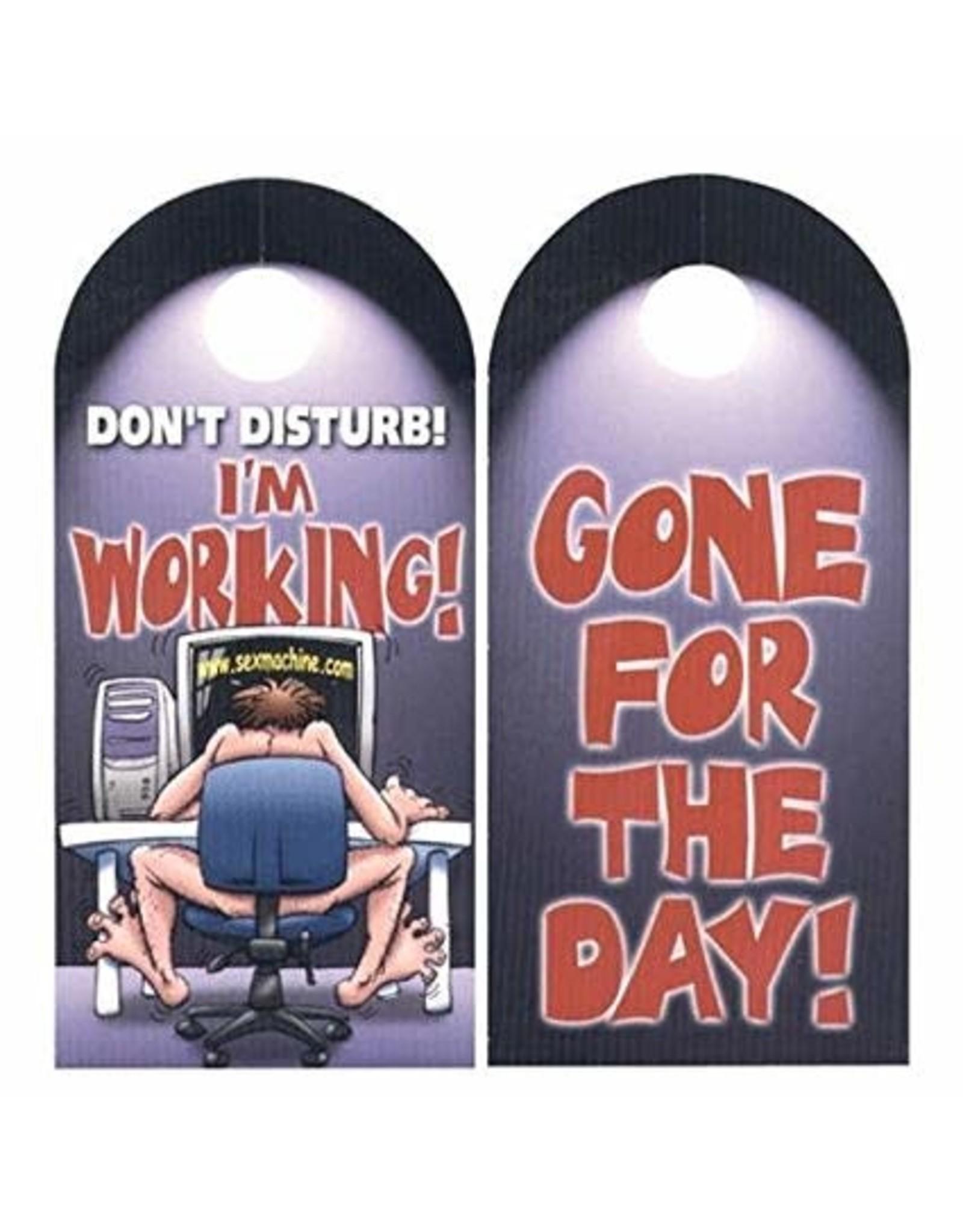 DOOR HANGER - IM WORKING