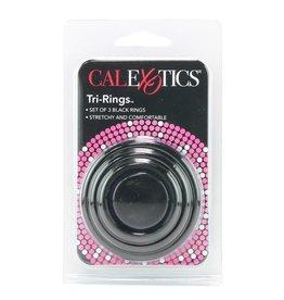 CALEXOTICS TRI-RINGS COCK RING SET