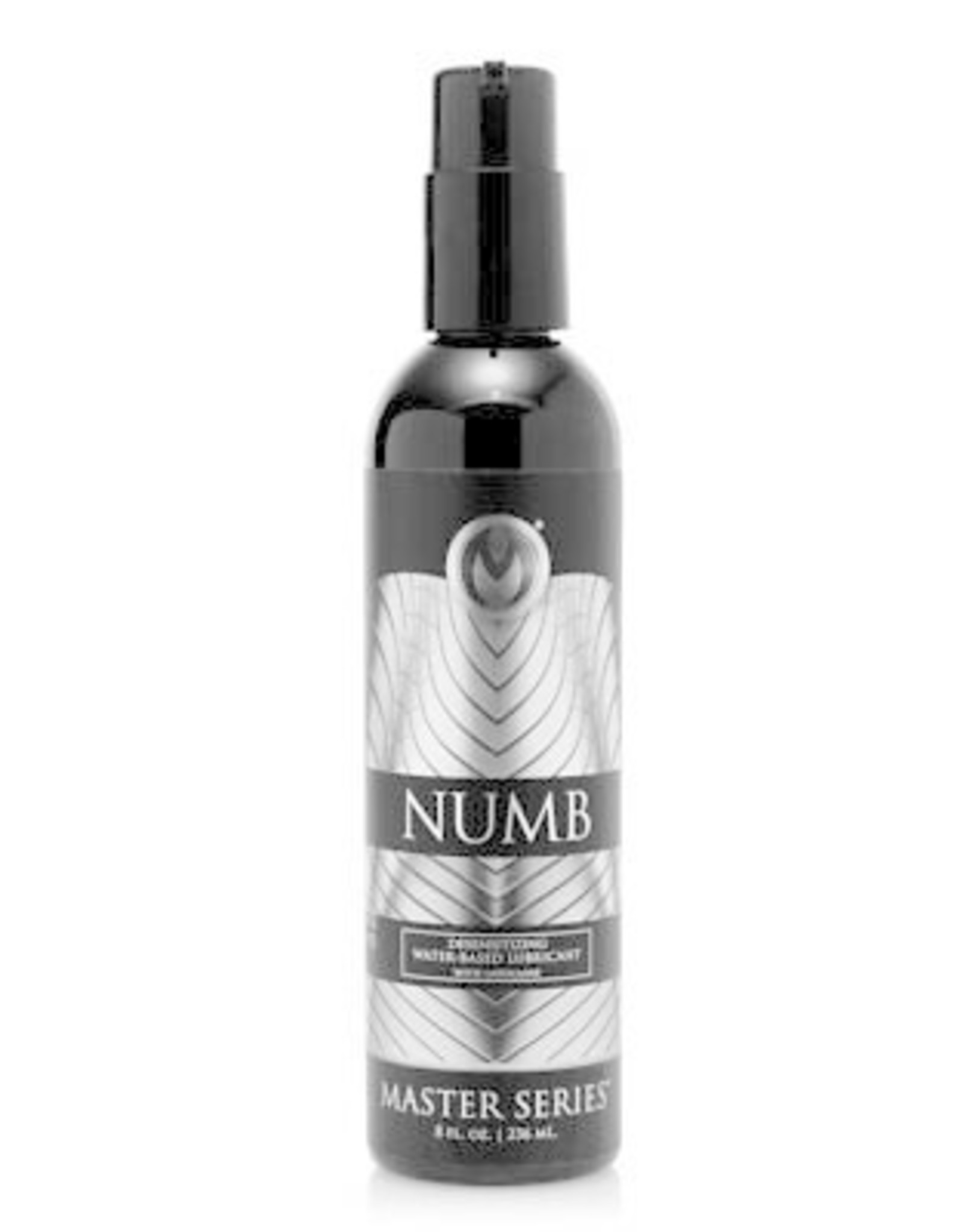 MASTER SERIES MASTER SERIES - NUMB DESENSITIZING WATER BASED LUBRICANT WITH LIDOCAINE 8 OZ