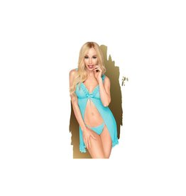 PENTHOUSE PENTHOUSE - AFTER SUNSET - TURQUOISE - L/XL