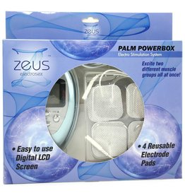 XR BRANDS ZEUS ELECTROSEX - POWERBOX - PALM SIZE - 6 MODES