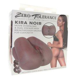 EVOLVED ZERO TOLERANCE KIRA NOIR DUAL STROKER