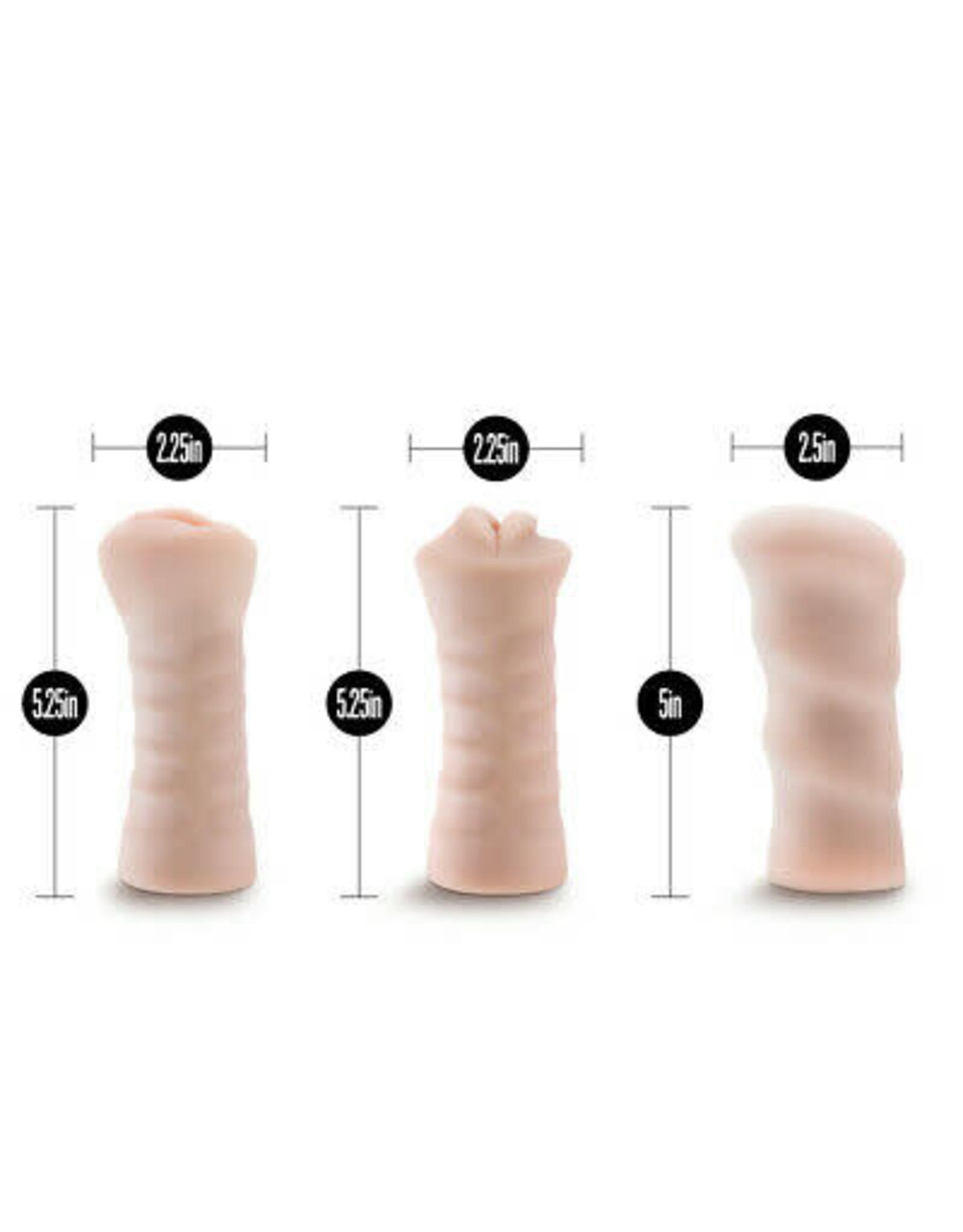 BLUSH BLUSH - M FOR MEN- 3-PAC SELF-LUBRICATING VIBRATING STROKER SLEEVE KIT
