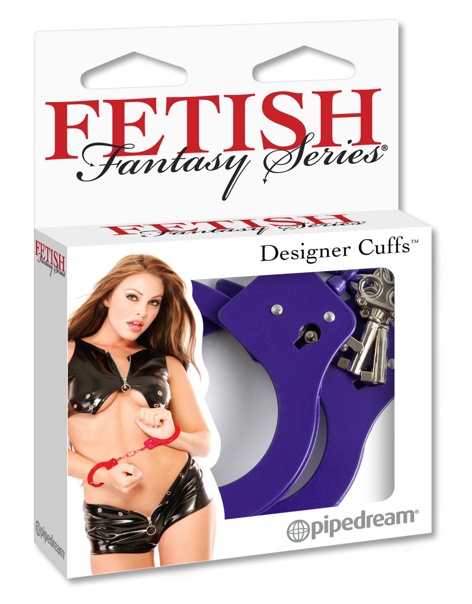 FETISH FANTASY FETISH FANTASY - DESIGNER CUFFS - PURPLE