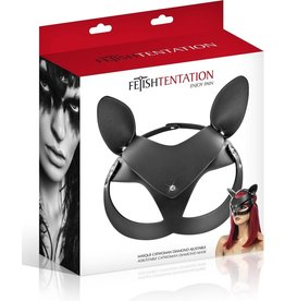 FETISH TENTATION - CATWOMAN FAUX LEATHER MASK