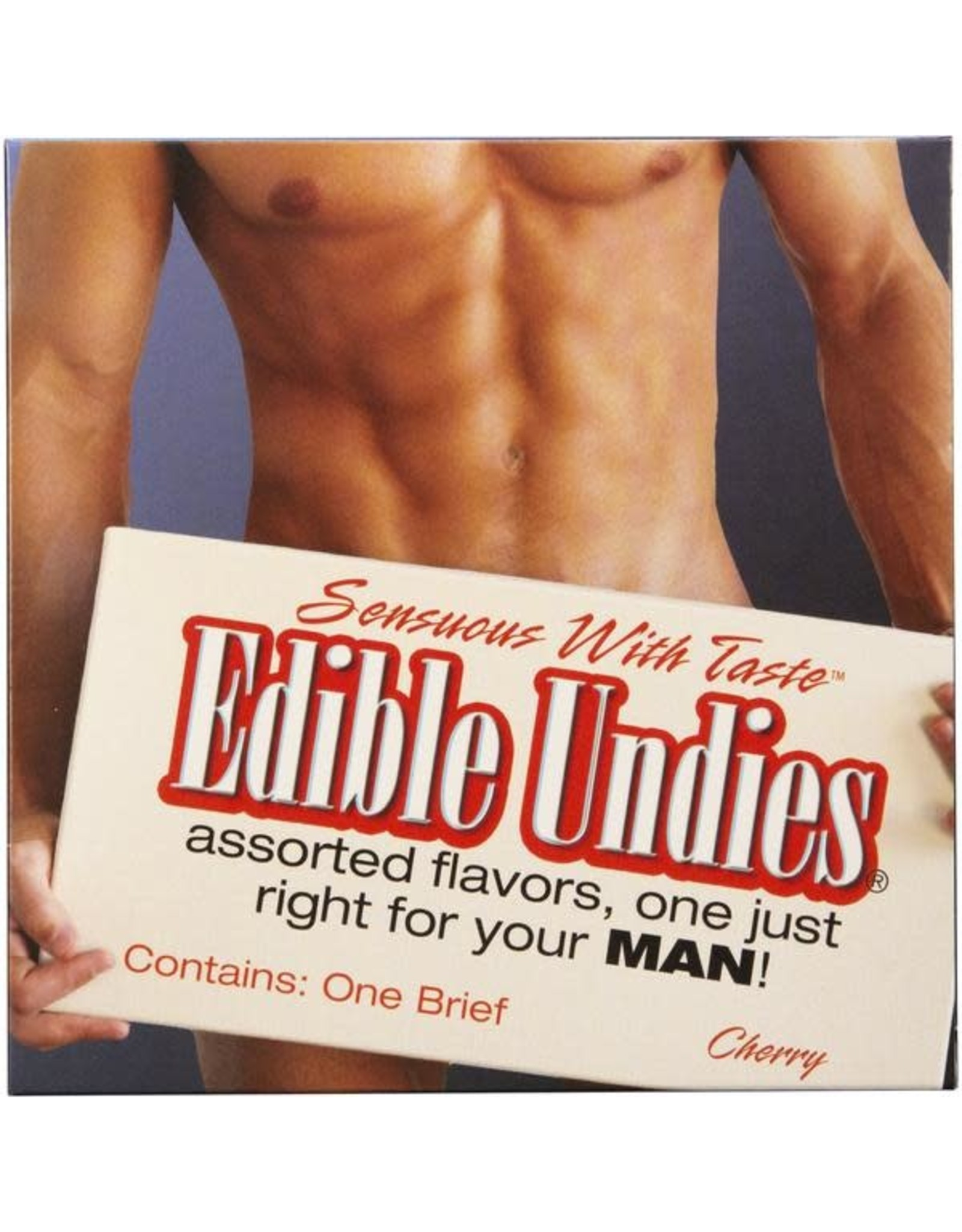 EDIBLE UNDIES FOR MEN - CHERRY