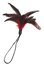SPORTSHEETS PLEASURE FEATHER - RED