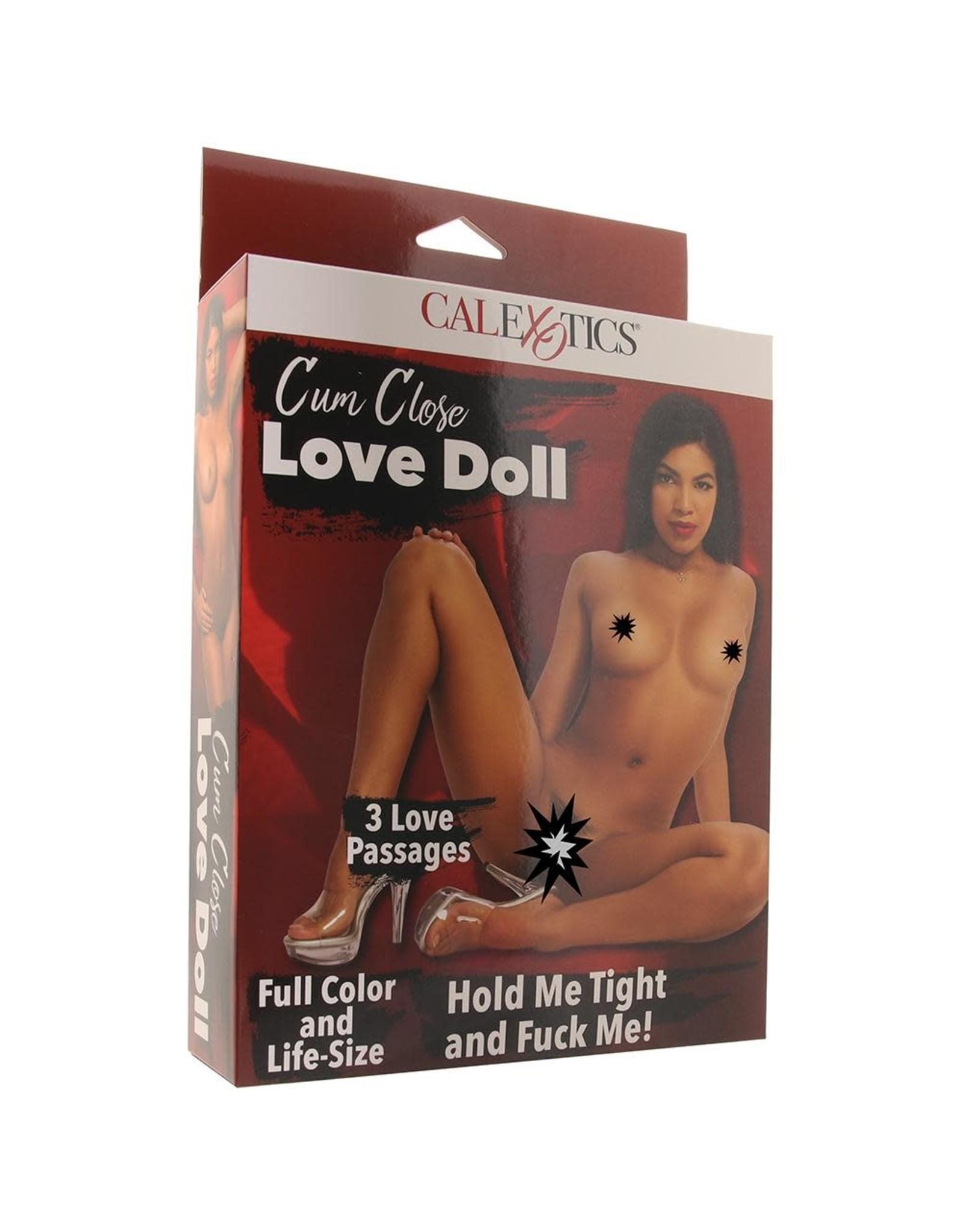 CALEXOTICS CUM CLOSE LOVE DOLL