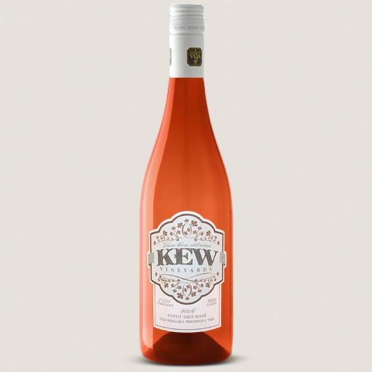 KEW Vineyards 2016 Pinot Gris Rosé