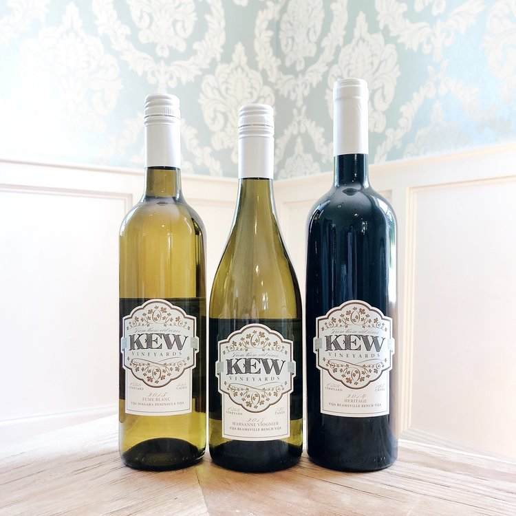 KEW Vineyards Gold Medal Winners, Case Special