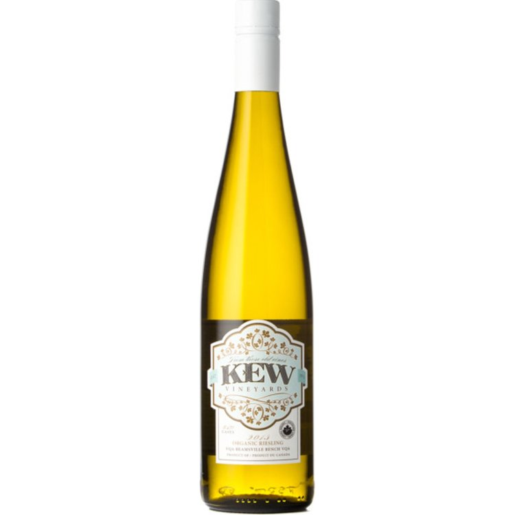 "KEW Vineyards 2013 Organic Riesling ""12 for 11"""
