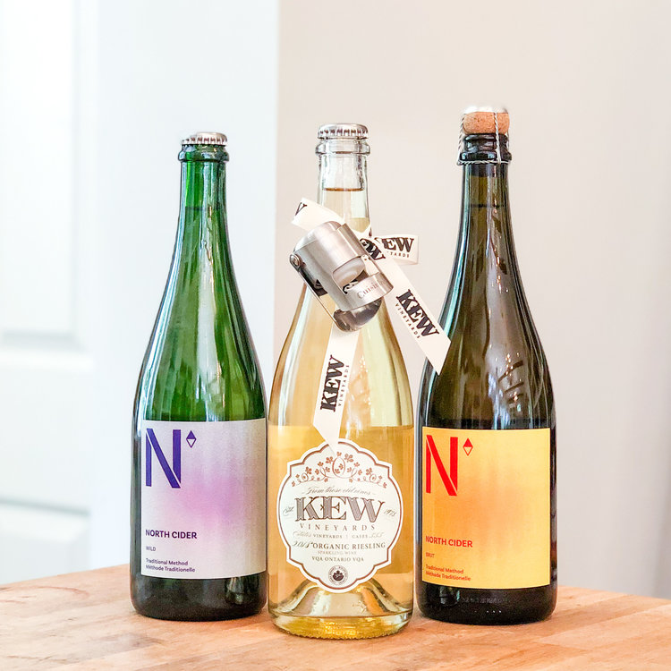 KEW Vineyards Stop! It's Bubble Time