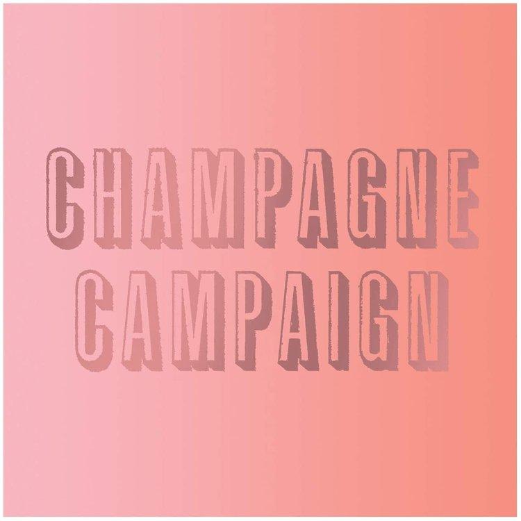 Slant Napkin, Champagne Campaign