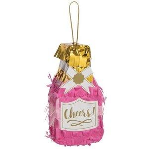 Slant Champagne Bottle Piñata