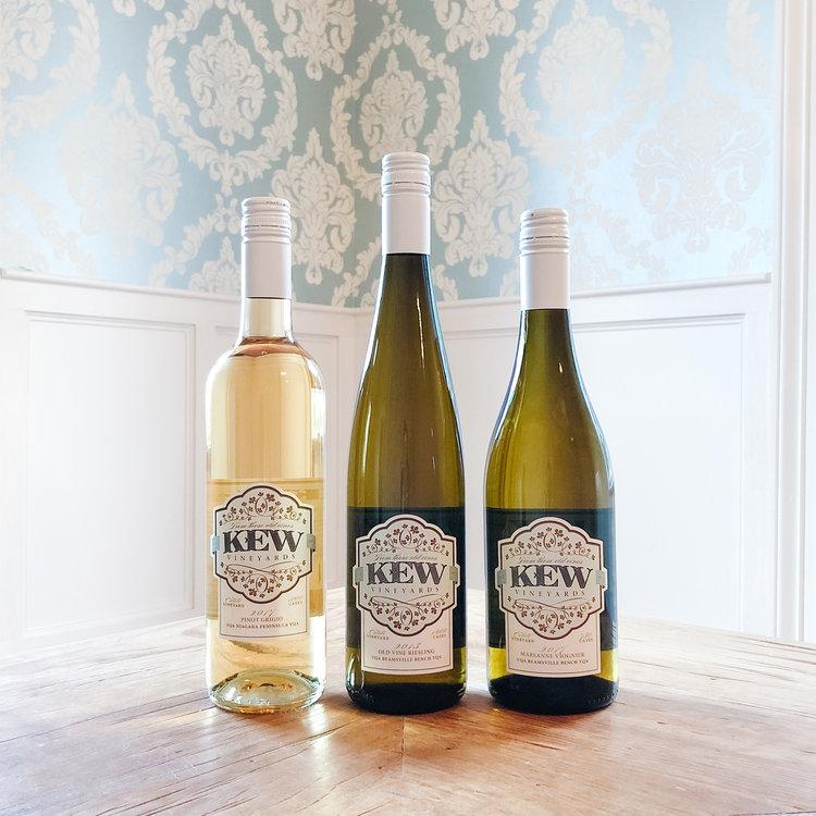 KEW Vineyards White Trio