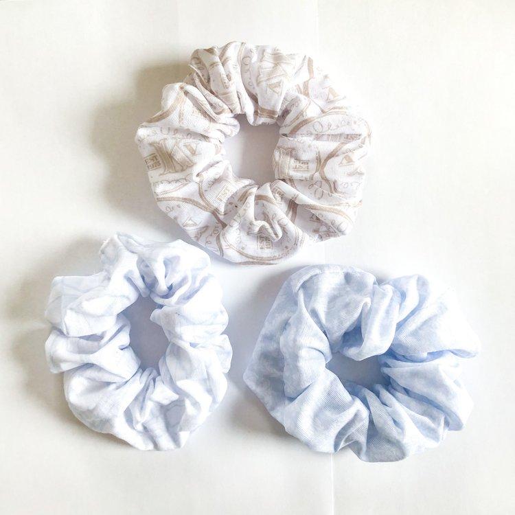 Scrunchie, Three Pack