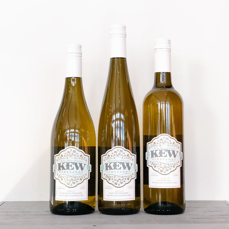 KEW Vineyards February Whites Trio