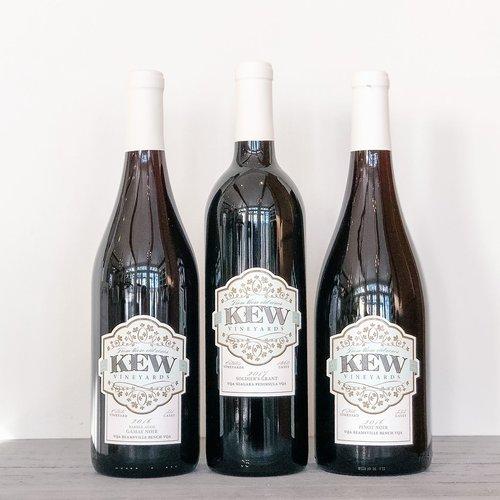 KEW Vineyards Reds Trio