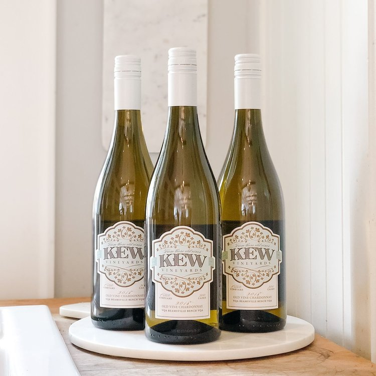 KEW Vineyards 2018 Old Vine Chardonnay Bundle