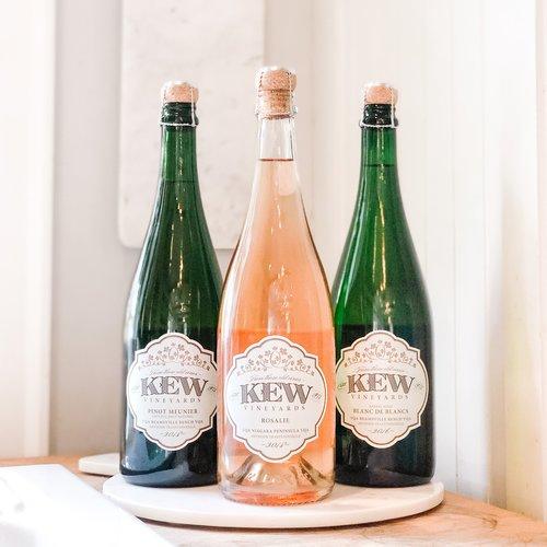 KEW Vineyards New Sparklings Trio