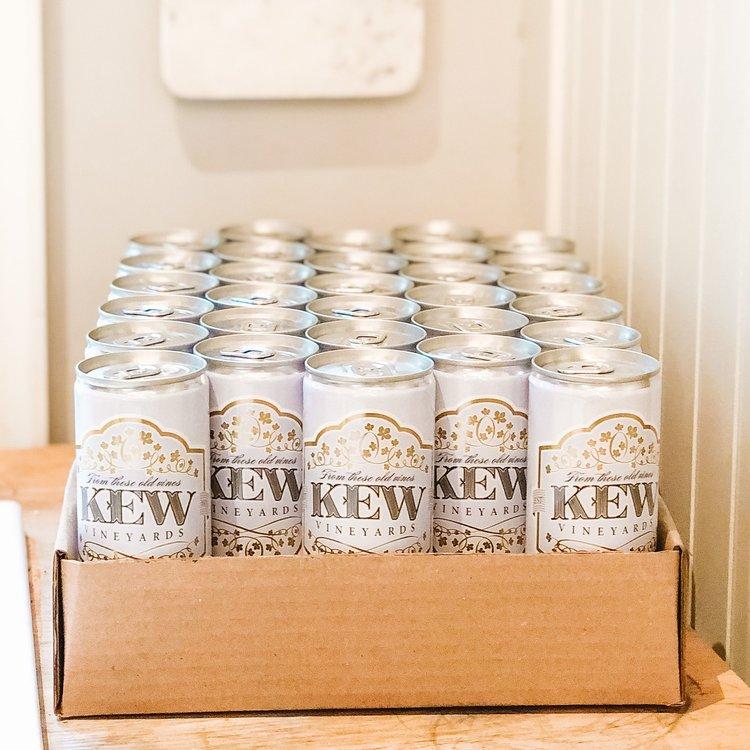 KEW Vineyards 2019 Organic Riesling, 30 pack