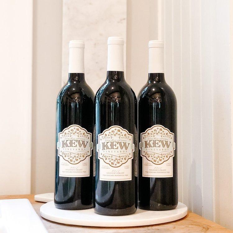 KEW Vineyards 2017 Soldier's Grant Bundle
