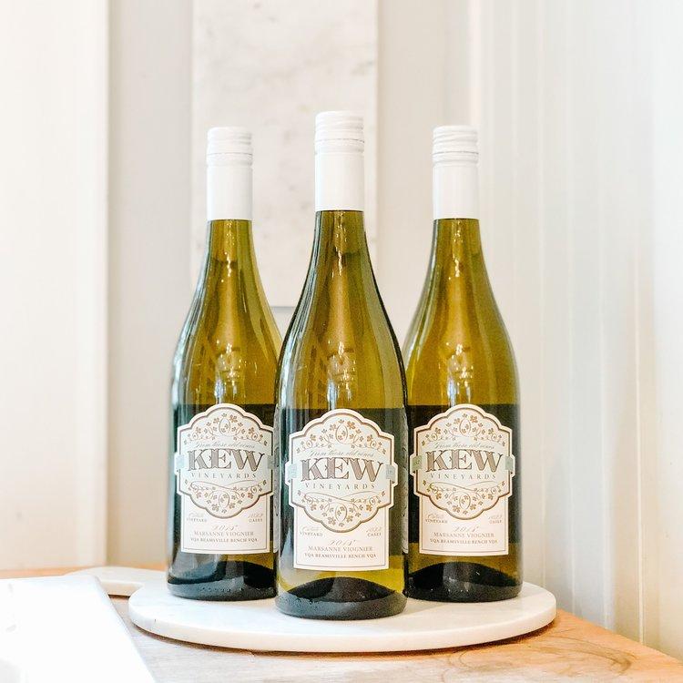 KEW Vineyards 2018 Marsanne Viognier Bundle