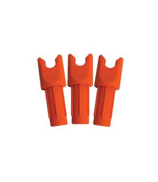 Ravin Crossbows Orange Nocks With Tool - 12 Pack
