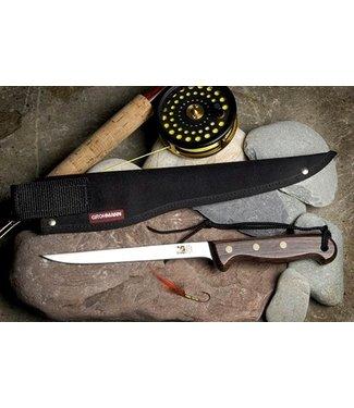 GROHMANN 8IN Fillet Knife & Sheath Set