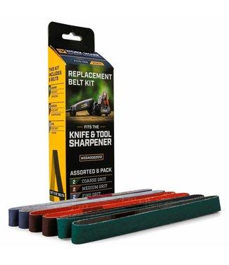 WORK SHARP Work Sharp Knife & Tool Sharpener Replacement Belt Kit