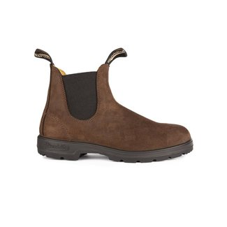 BLUNDSTONE Leather Lined Brown Nubuck