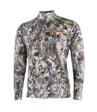 SITKA GEAR MEN'S MERINO HEAVYWEIGHT HALF ZIP