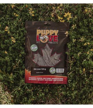 PUPPY LOVE PET PRODUCTS ELK LIVER 120G