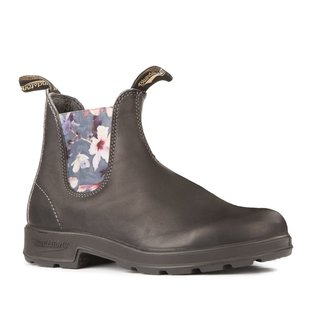 BLUNDSTONE ORIGINAL 1916 WITH BLACK FLOWER ELASTIC