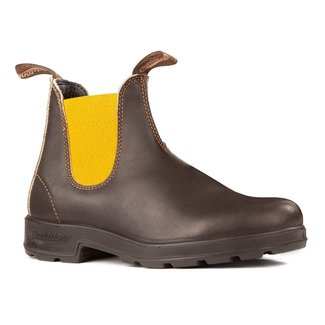 BLUNDSTONE ORIGINAL 1919 WITH MUSTARD ELASTIC