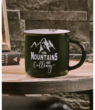 GIFTCRAFT MOUNTAINS CERAMIC COFFEE MUG