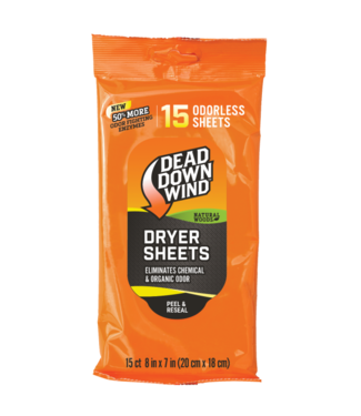 DEAD DOWN WIND Dryer Sheets - Natural Woods