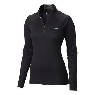 COLUMBIA Women's Heavyweight II Baselayer Long Sleeve Half Zip Shirt