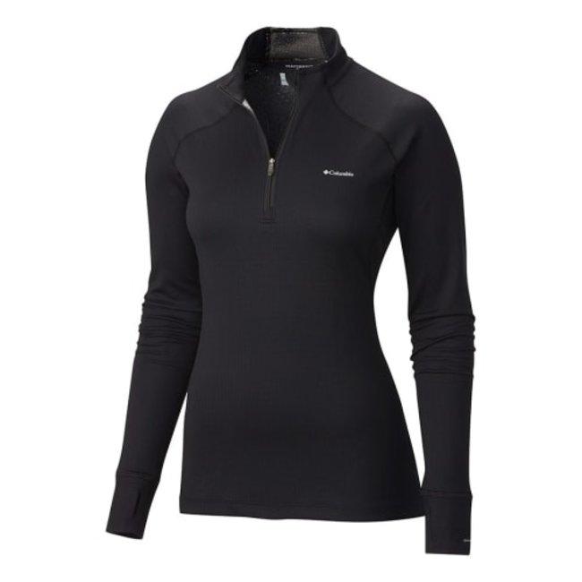 Columbia Mens Heavyweight Half Zip Long Sleeve Baselayer Shirt
