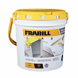FRABILL Insulated Bait Bucket Built in Aerator