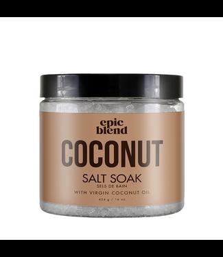 EPIC BLEND Coconut Salt Soak 454g