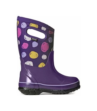 BOGS Classic Sketched Dots Kids' Insulated Boots