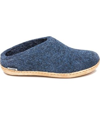 GLERUPS Leather Sole Slippers - Unisex